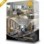 3darcshop, 3d66- Livingroom 9,10- Dowload free