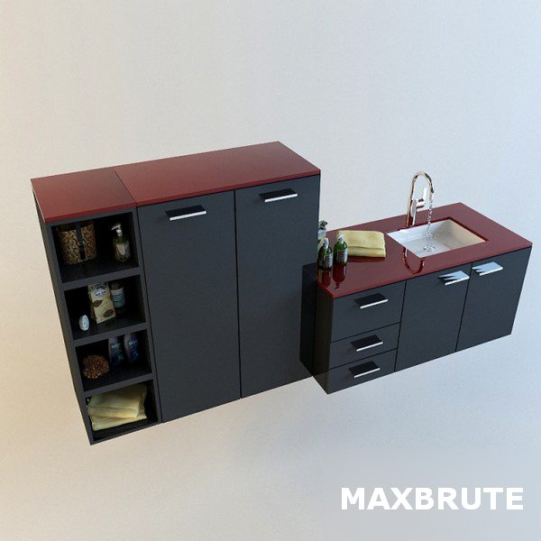 Bathroom furniture_Maxbrute035