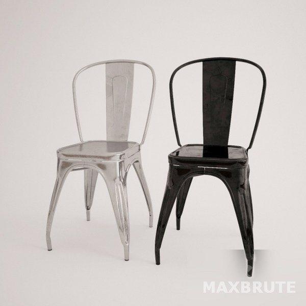 Tolix-Chair – Ghế Tolix- 3dsmax model042