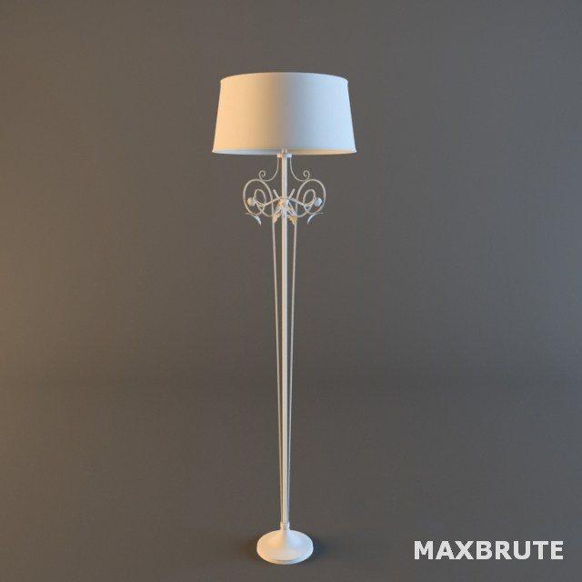 Floor lamp 3dsmax_Đèn sàn, đèn đứng_Maxbrute 081