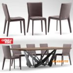 Table and chair 10 maxbrute  Cattelan italia VITTORIA
