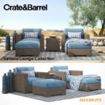 Crate & Barrel Ventura sofa