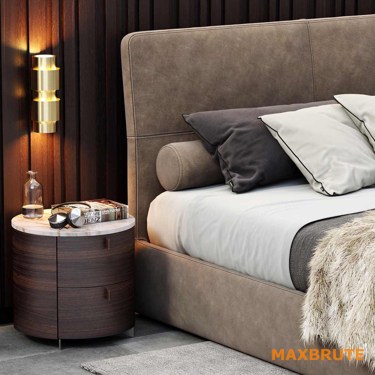 Poliform Laze Bed Maxbrute 29 GiƯỜng 3dmax TẢi Dowload VỀ