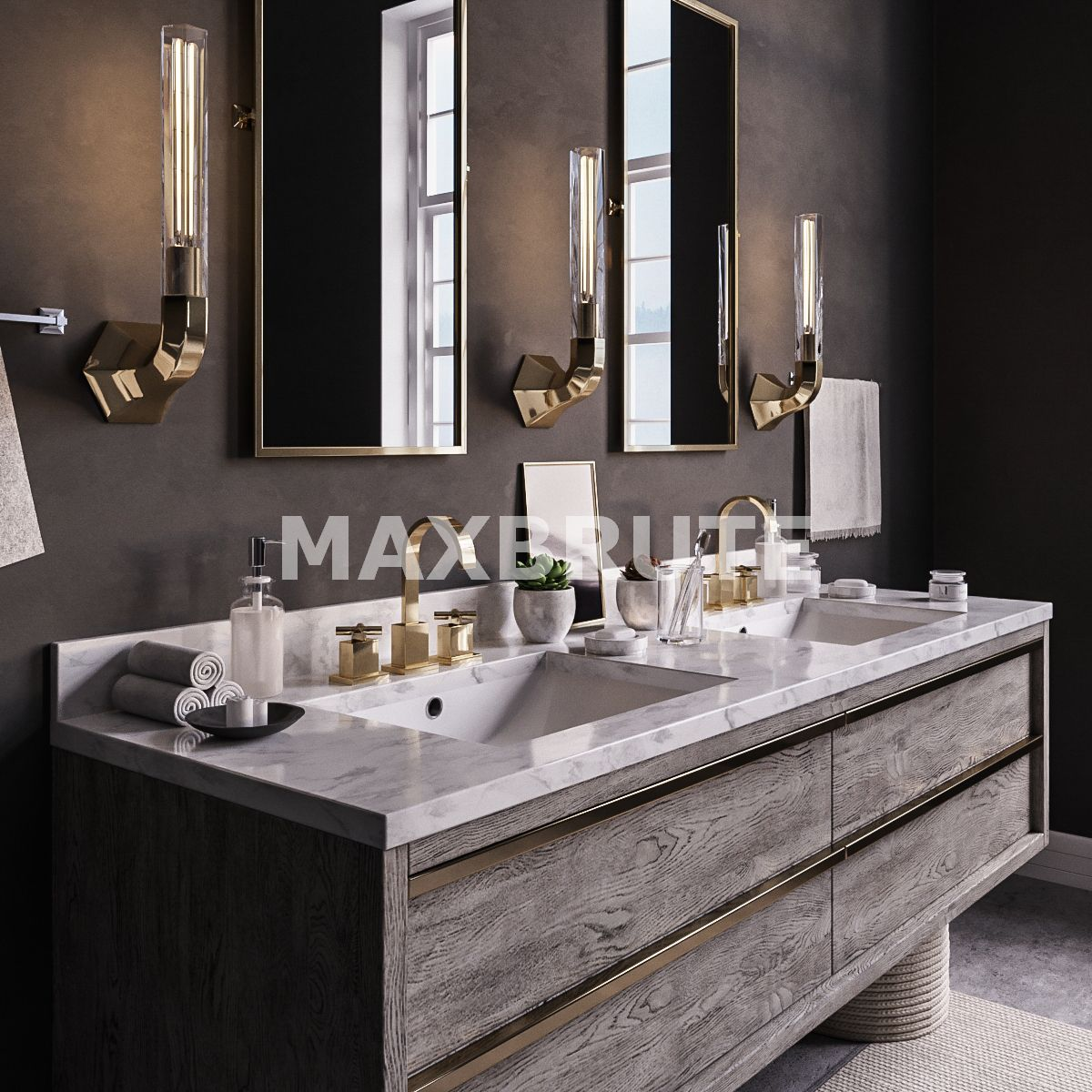 Furniture bathroom furniture maxbrute