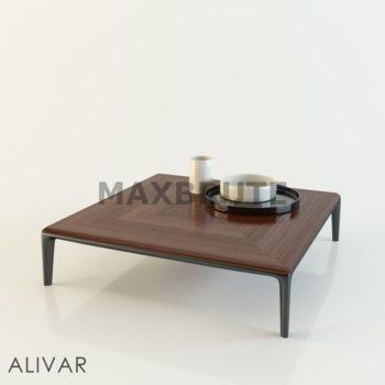 Bàn 3dmax model table 13
