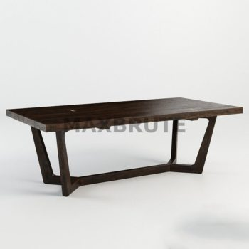 Bàn 3dmax model table 40