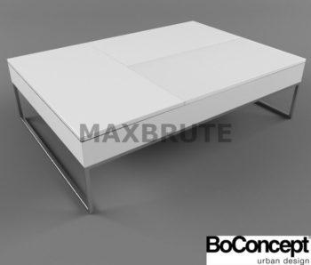 Bàn Boconcept 3dmax model table 60