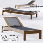 Lounger chair Valteck Teck  maxbrute