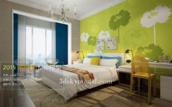 File phòng ngủ 3dmax Bedroom 24