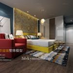 File Bedroom phòng ngủ 3dsmax 02