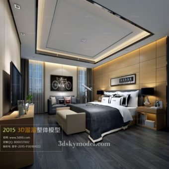 File Bedroom phòng ngủ 3dsmax 03