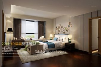 File Bedroom phòng ngủ 3dsmax 13
