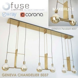 Geneva Chandelier and Pendant
