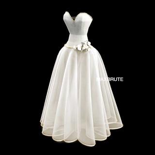Dress 3dmodel 3dsmax