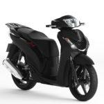 Motorcycle 3dsmax Sketchup SH 150i Black