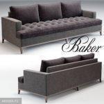 Baker  Bennet sofa 3dmodel  160
