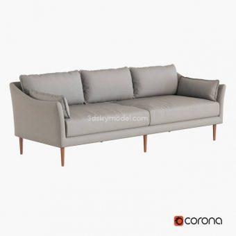 Antwerp sofa 3dmodel  181