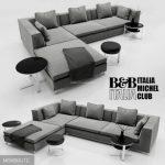 italia michel sofa 3dmodel  236