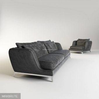 brando sofa 3dmodel  315