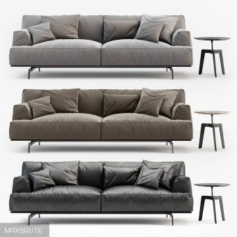 TRIBECA  TBDI240 3ds sofa 3dmodel  468