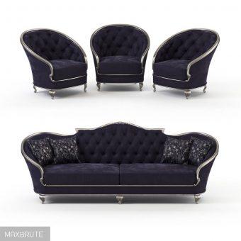 Goldconfort Eden sofa 3dmodel divan