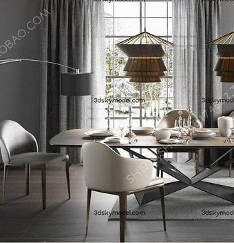 Sell Dining table dining chair 02