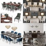 Sell table & chair vol1 2018 set 3dmodel
