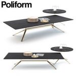 POLIFORM MONDRIAN COFFEE Table & chair 160