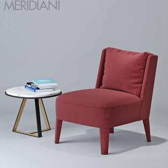 meridiani cecile Table & chair 252