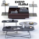 table DI coffee table s   1.5 3dmodel 165