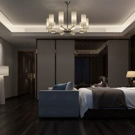 3d66 Bed room  J014-mix-style  download  free  3dsmax