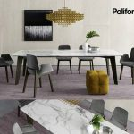 Poliform Howard  & Ventura s Table & chair 325