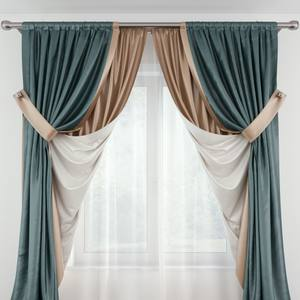Curtain 3dskymodel -Download 3dmodel- Free 3d Models   507