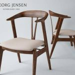 georg jensen chair  ghế 62