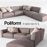 Poliform sofa 3dmodel  71