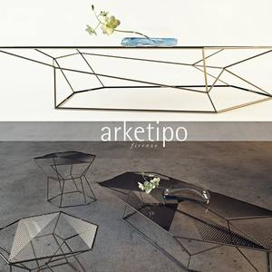 Arketipo Rebus Table & chair 53