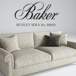 HUXLEY  No. 6605S sofa 3dmodel  126