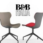 B&B_PAPILIO_SHELL Chair  ghế 174