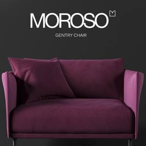 Moroso  Gentry Armchair 3dskymodel -Download 3dmodel- Free 3d Models   275