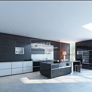 Kitchen Tủ bếp - Download 3d Model - Free 3dmodels  Maxbrute 22