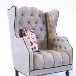 Air Mail Tufted Chair Armchair   300