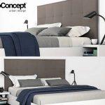 Boconcept Lugano Bed  giường 291