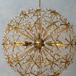 Floral Burst Chandelier Ceiling light  Đèn trần 213
