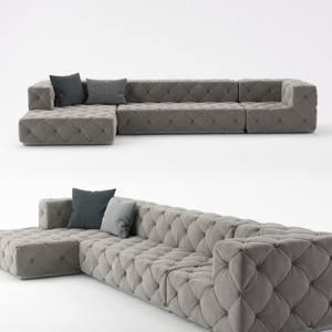 Longhi Must Corona sofa 3dmodel  349