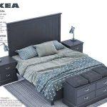Ikea Undredal Bed  giường 355