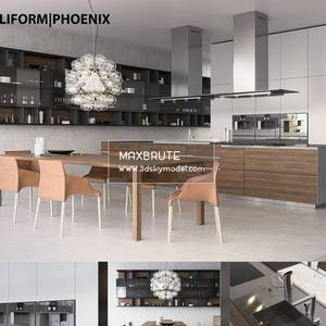 Kitchen Tủ bếp - Download 3d Model - Free 3dmodels  Maxbrute 45
