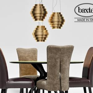 Baxter Table & chair 187