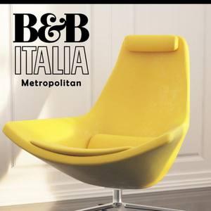 Armchair Metropolitan B&B Italia Chair 3dskymodel -Download 3dmodel- Free 3d Models   15