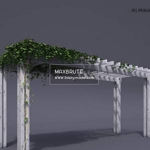 pergola   Download -3d Model - Free 3dmodels-  Maxbrute  64
