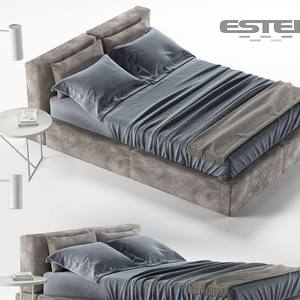 CARESSE BED 3dskymodel -Download 3dmodel- Free 3d Models   532